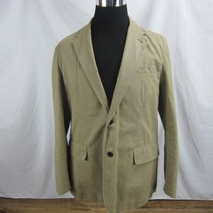Express Blazer Men's Large Tan Khaki Sport Coat